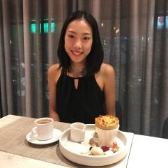Bubble tea flavored souffle