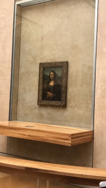 The Mona Lisa (it's still a replica)