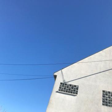 Blue skie