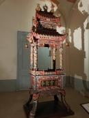 A dragon-themed incense burner