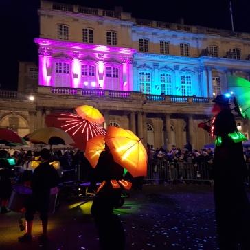 Creative umbrella dance