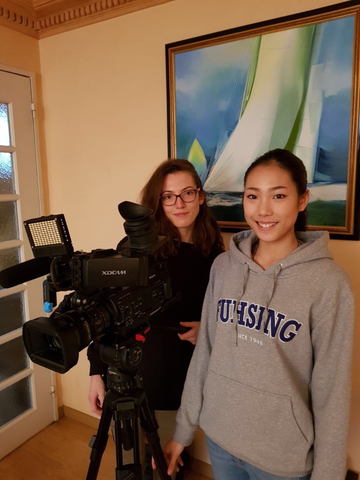 Mosaik Television comes to our house!