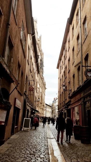 里昂老街美景