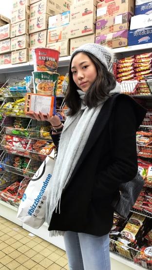 在亞洲超市收穫滿滿