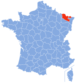 Department of Moselle (photo credits to Wikipedia)