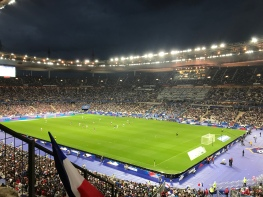 "our view in the stadium ""Stade de France"""